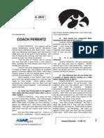 Coach Ferentz - 11 06 12