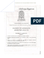 Cuestionarios Unicauca-Universidad de Antioquia. (Prueba de Admisión) 2012