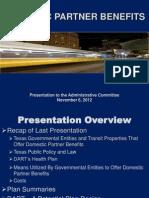 Domestic Partner Benefits_Administrative