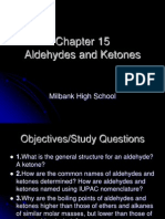 Chapter 15 Aldehydes