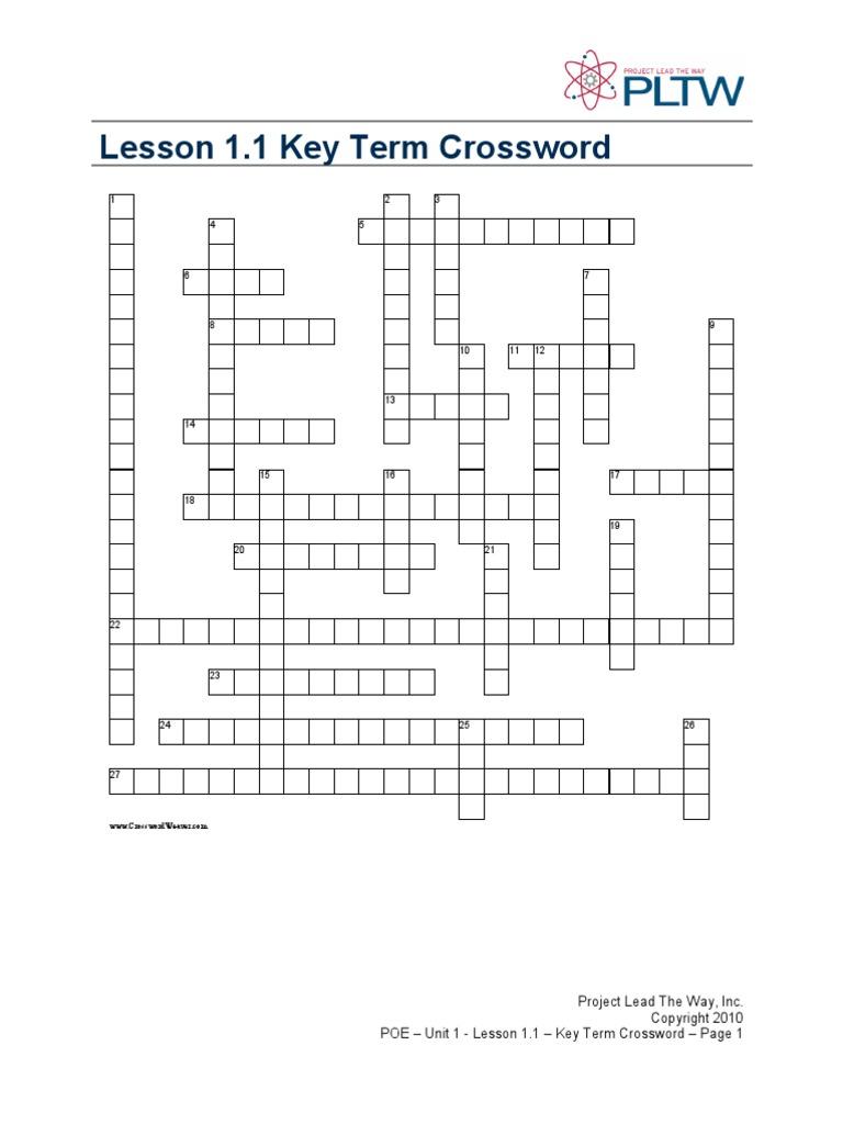 engineering crossword   Lever   Force