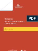 Origenes Del Arte Conceptual en Colombia