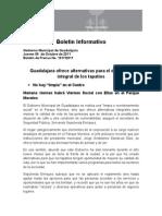 06-10-2011 Guadalajara ofrece alternativas para el desarrollo integral de los tapatíos