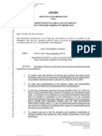 PhilRES Amended AIC and New by Laws Final Soft Copy (From Rem Ramirez)