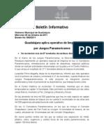 26-10-2011 Guadalajara Aplica Operativo de Limpieza Por Juegos Panamericanos.