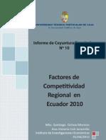 Informe de coyuntura económica N° 10 año 2012