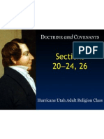 LDS Doctrine and Covenants Slideshow 06