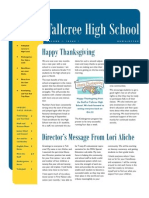high school newsletter october2
