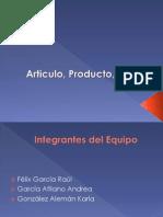 Articulo, Producto, Líneas y Mezclas MERCADOTECNIA