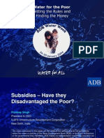 Subsidies – Have they Disadvantaged the Poor?