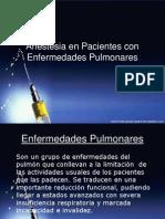 Anestesia en Pacientes Con EPOC