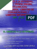 DERECHO AL Secreto y Reserva de Las Comunicasiones (Diapositiva)