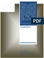Texto Unico Ordenado de La Ley de Proteccion Frente a La Violencia Familiar y Sus Modificatorias