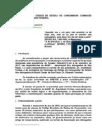 ALTERAÇÕES DO CÓDIGO DE DEFESA DO CONSUMIDOR