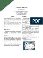 Arquitecturas  Multiagentes