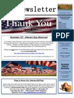 11-9 PTO Newsletter