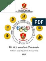 Directiva 2012 Juegos Deportivos y Florales 2012
