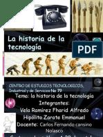 La historia de la tecnología
