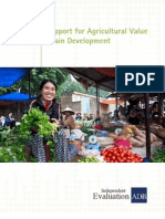 Support for Agricultural Value Chain Development