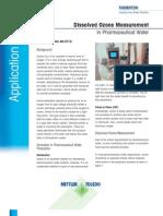 App Note Ozone in Pharmaceutical Water v2