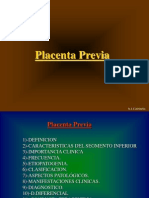 Placenta Previa Concurso
