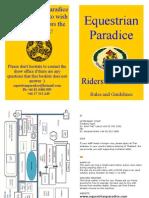 Ep Rider Handbook 2012