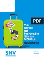 The Market for Responsible Tourism Products