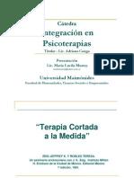 ClaseTerapia Cortada a La Medida