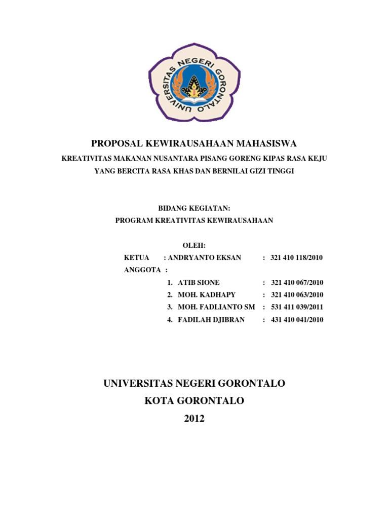 Contoh proposal penawaran produk pdf free online
