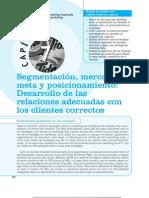 Cap 7 - Segmentacion de Mercados Meta y Posicionamiento