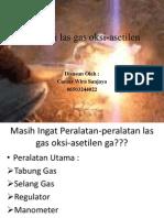 Instalasi Las Gas Oksi-Asetilen