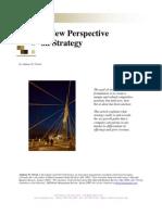 Anewperspectiveon Strategy