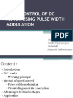 ppt of pwm dc motor
