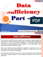 Data Sufficiency Part 2