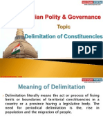 13 (A) Delimitation of Constituencies