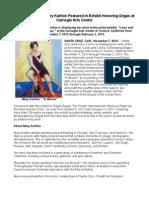 Santa Cruz Artist Mary Karlton Featured in Exhibit Honoring Degas at Carnegie Arts Center