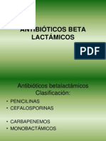 Antibiticos Beta Lactmicos
