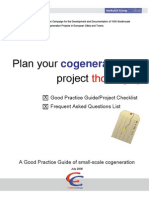 Cc Project Checklist