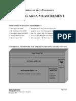 Building Are a Measurement