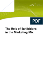 The Role of Exhibitions in the Marketing Mix