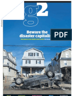 Beware the disaster capitalists