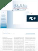 Boletin CEDAP N 3 (Ene-Feb 2009)