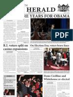November 7, 2012 issue