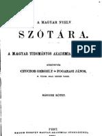 A magyar nyelv szótára II