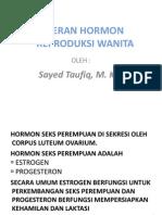Fungsi Hormon Reproduksi Wanita
