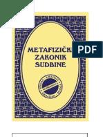 Miroslav Markovic - Metafizicki zakonik sudbine