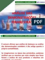 Administração Financeira - análise de balanços