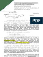 1.04 - Organização da Adm. Pública, Adm. Direta, Órgão Público, Adm. Indireta, Fundação