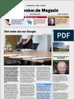 Infobroker Magazin 11 2012