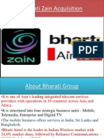Bharati Zain Acquisition